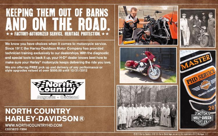 Get Serviced at North Country Harley-Davidson