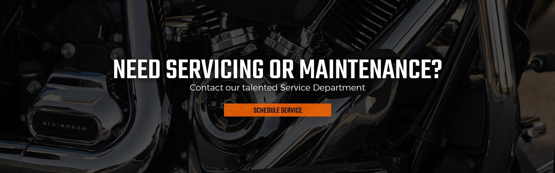 Schedule service at North Country Harley-Davidson