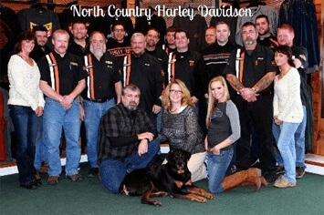 Staff of North Country Harley-Davidson